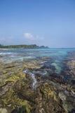 Ilha de Sangiang, Banten indonésia Fotos de Stock Royalty Free