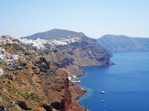 Ilha de Santorini Imagem de Stock