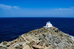 A ilha de Sifnos foto de stock