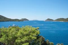 Ilha de Silba Fotos de Stock Royalty Free