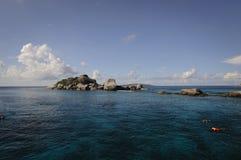Ilha de Similan, mar de Andaman, Tailândia Imagem de Stock
