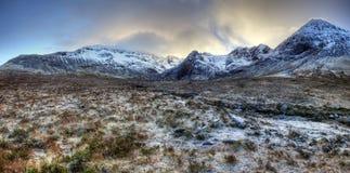 Ilha de Skye, associações feericamente Fotografia de Stock