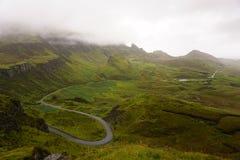 Ilha de Skye em Escócia foto de stock