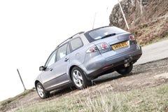 Ilha de Skye, Escócia, em março de 2012: Propriedade 2005 de Mazda 6 - motor de gasolina eterno japonês, problemas com corrosão d imagens de stock