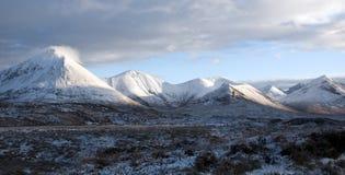 Ilha de Skye no inverno Imagem de Stock Royalty Free