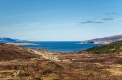 Ilha de Skye no inverno Foto de Stock