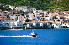 Ilha de Spetses, Grécia Fotos de Stock