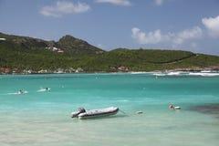 Ilha de St Barthelemy, das caraíbas Fotos de Stock