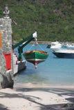 Ilha de St Barthelemy, das caraíbas Imagem de Stock Royalty Free