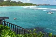 Ilha de St Barthelemy, das caraíbas Imagem de Stock