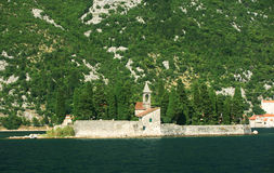 Ilha de St George, Montenegro Foto de Stock Royalty Free