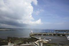 A ilha de St Mary do porto do homem Fotos de Stock Royalty Free