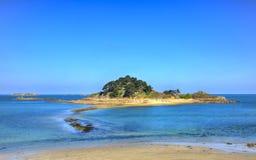 Ilha de Sterec - Brittany, França Fotografia de Stock Royalty Free