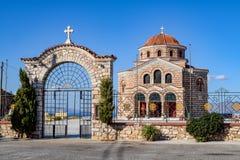 A ilha de Syros foto de stock royalty free
