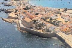 Ilha de Tabarca em Alicante, Espanha Imagem de Stock Royalty Free