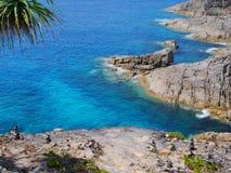 Ilha de Tachai do formulário da opinião do mar, Tailândia Imagens de Stock