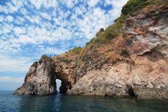 Ilha de Talu Foto de Stock