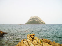 Ilha de Tavolara Imagem de Stock