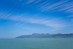 Ilha de Teluk Ewa Jetty Langkawi fotos de stock