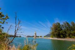 Ilha de Teluk Ewa Jetty Langkawi imagem de stock