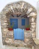 Ilha de Tinos, Grécia, casa pitoresca Fotos de Stock Royalty Free