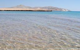 Ilha de Tiran, Egito Mar Vermelho Imagem de Stock Royalty Free