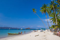 Ilha de Tortuga, Costa Rica Fotografia de Stock Royalty Free
