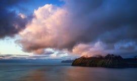 Ilha de Vagar Fotografia de Stock