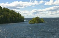 Ilha de Valaam, Rússia imagem de stock