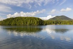Ilha de Vancôver pacífica BC Canadá da paisagem de Rim National Park Reserve Scenic imagem de stock royalty free