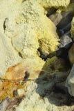 Ilha de Vulcano, Lipari, Itália Imagem de Stock