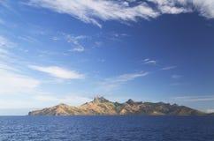 Ilha de Waya, ilhas de Yasawa, Fiji imagens de stock royalty free