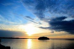 Ilha de Wissota Foto de Stock Royalty Free
