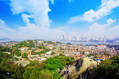 Ilha de Xiamen Gulangyu fotografia de stock royalty free