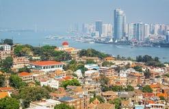 Ilha de Xiamen Gulangyu fotografia de stock