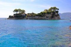 Ilha de Zakynthos ou de Zante, mar Ionian, Grécia imagem de stock