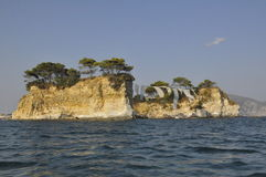 Ilha de Zakyntos foto de stock