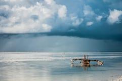 Ilha de Zanzibar fotografia de stock