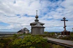 Ilha de Zayatsky Fotografia de Stock Royalty Free