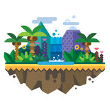 Ilha desinibido, selva Fotos de Stock