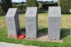 Ilha divisional dos memoriais do parque da paz da Irlanda Fotografia de Stock