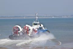 Ilha do aerodeslizador do Wight Imagem de Stock