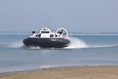 Ilha do aerodeslizador do Wight Fotografia de Stock