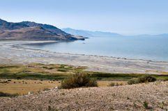 Ilha do antílope, Great Salt Lake, EUA Imagens de Stock Royalty Free