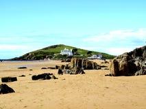Ilha do Burgh. Imagens de Stock
