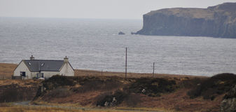 Ilha de cores do inverno de Skye Imagens de Stock