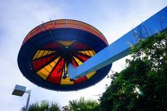 Ilha do céu no céu Foto de Stock