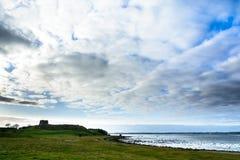 Ilha do castelo de Kalo, Dinamarca - panorama Foto de Stock