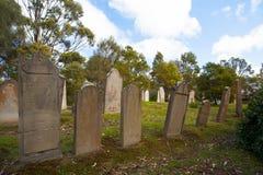 Ilha do cemitério inoperante imagens de stock royalty free