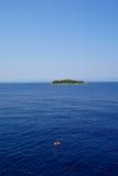 Ilha do conservante de vida Fotos de Stock Royalty Free